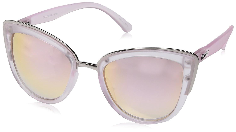 97c1511b2a43 Quay Eyewear Women's MY Girl Sunglasses, Pink (Pink/Pink), 150: Quay ...