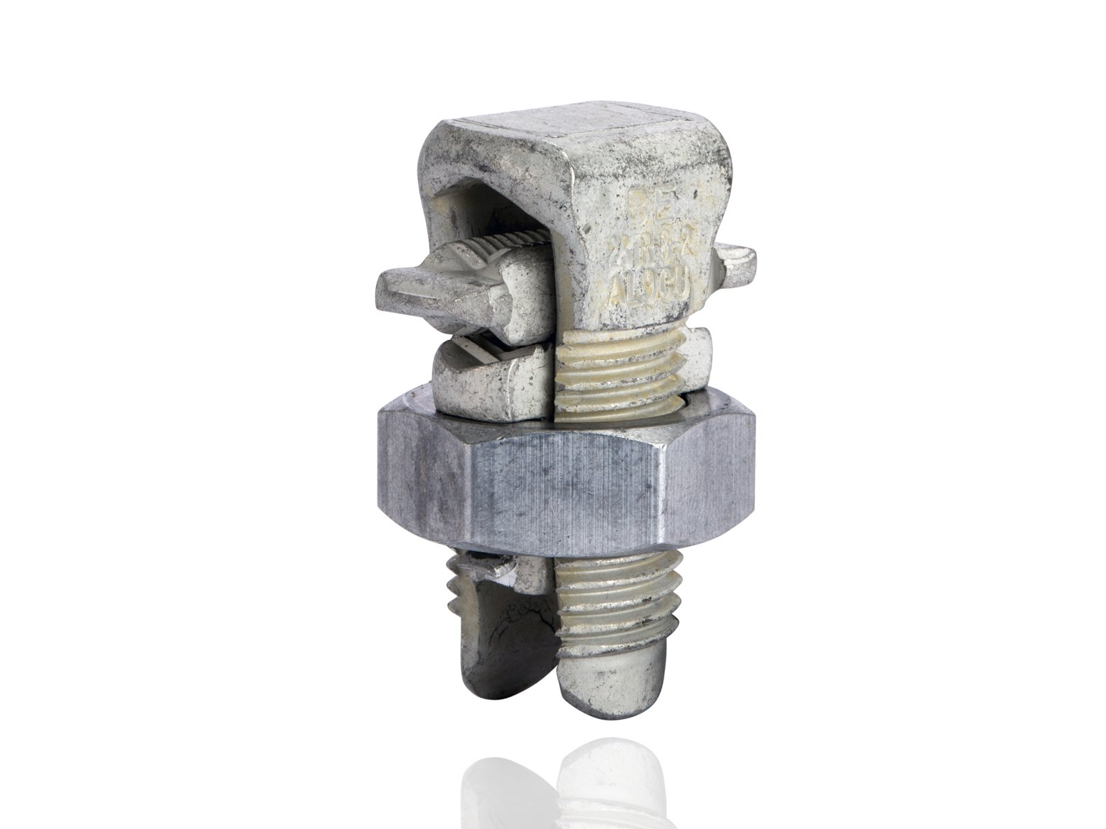 Aluminum Dual-Rated Split Bolt - APS Series, 0.146'' - 0.292'' Wire Diameter Range, 275lbs Torque