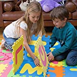 MOTA Alphabet ABC Mat – EVA Foam – Anti-Slip Foam Jigsaw Puzzle Floor Play Mat – 26 Tiles For Sale