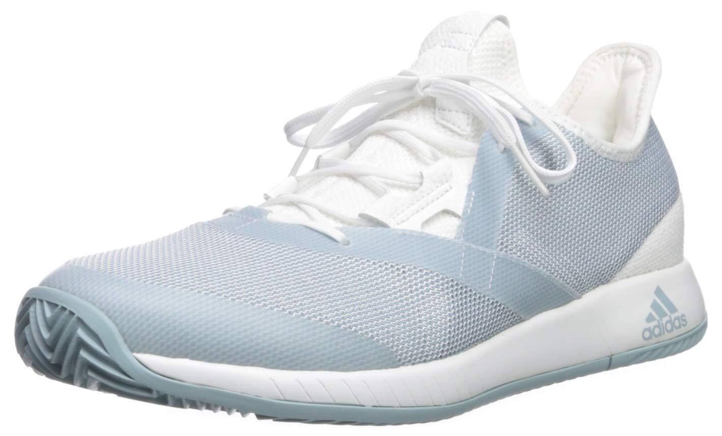 adidas Women's Adizero Defiant Bounce, ash Grey/White, 5.5 M US by adidas (Image #1)