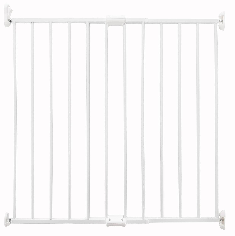 ZOPA Verlängerbares Schutzgitter SIMPLY – Montage an der Mauer, Geeignet für Öffnungen von 60 cm bis 97 cm Treppenschutzgitter Türschutzgitter