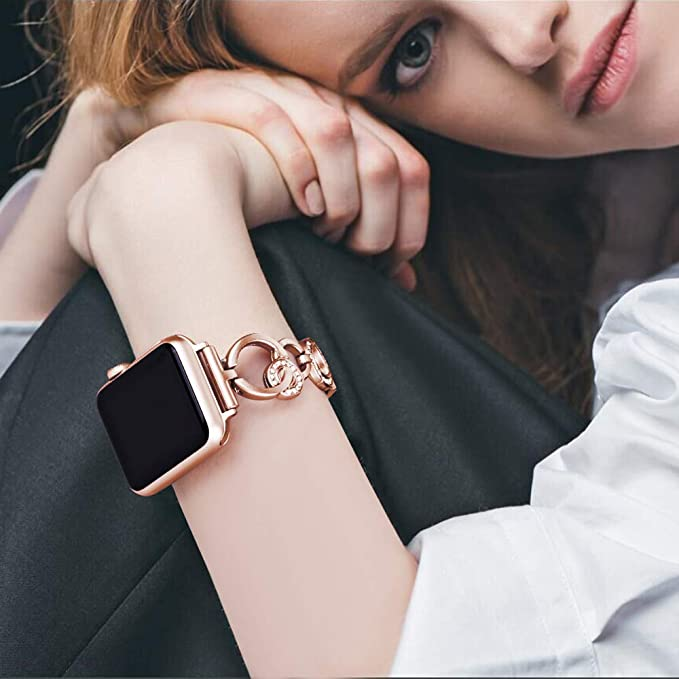 Amazon.com: KARBYE Slim - Correa para reloj de pulsera para ...