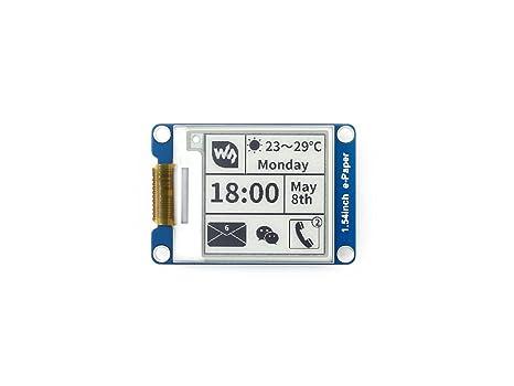 Tremendous Amazon Com Waveshare 1 54 Inch E Paper Display Panel Module 200X200 Wiring Digital Resources Inamasemecshebarightsorg