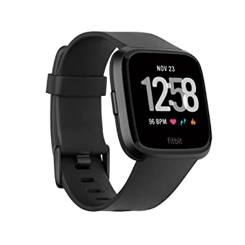 Fitbit Versa Music Play Grey Heart Rate Tracking Activity Fitness Smartwatch