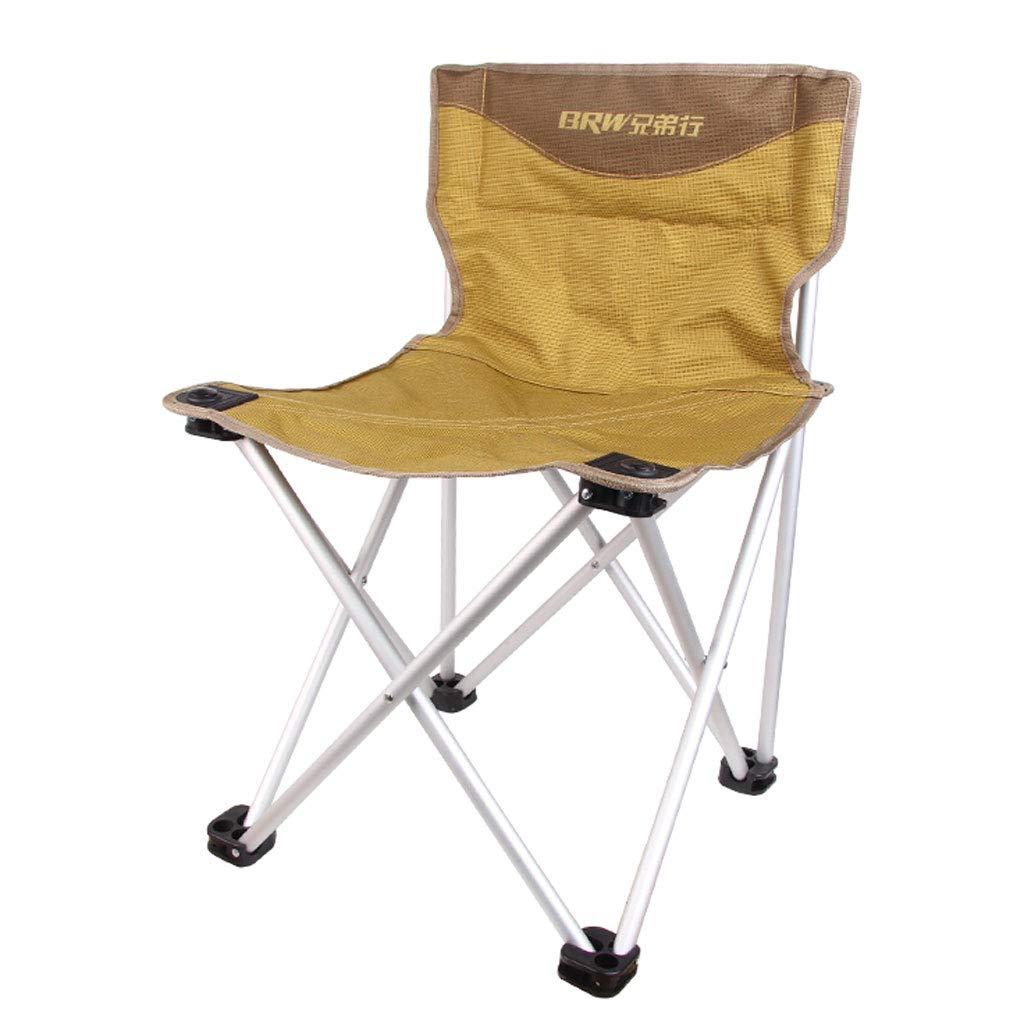 Medium Camping Chair Outdoor Ultra Light Portable Folding Chair  Aluminum Chair, Beach Chair, Barbecue Back, Fishing Chair (Size   Medium)