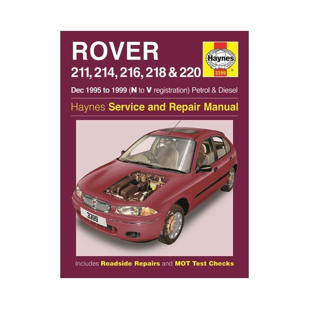 Rover 211, 214, 216, 218 & 220 Petrol & Diesel (Dec 95 - 99) Haynes Repair  Manual: Amazon.co.uk: Anon: 9780857336019: Books