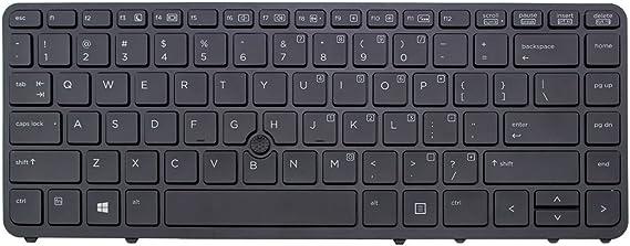 Backlit keyboard 731179-091 HP Keyboard Backlit keyboard with Dualpoint pointing stick norwegian