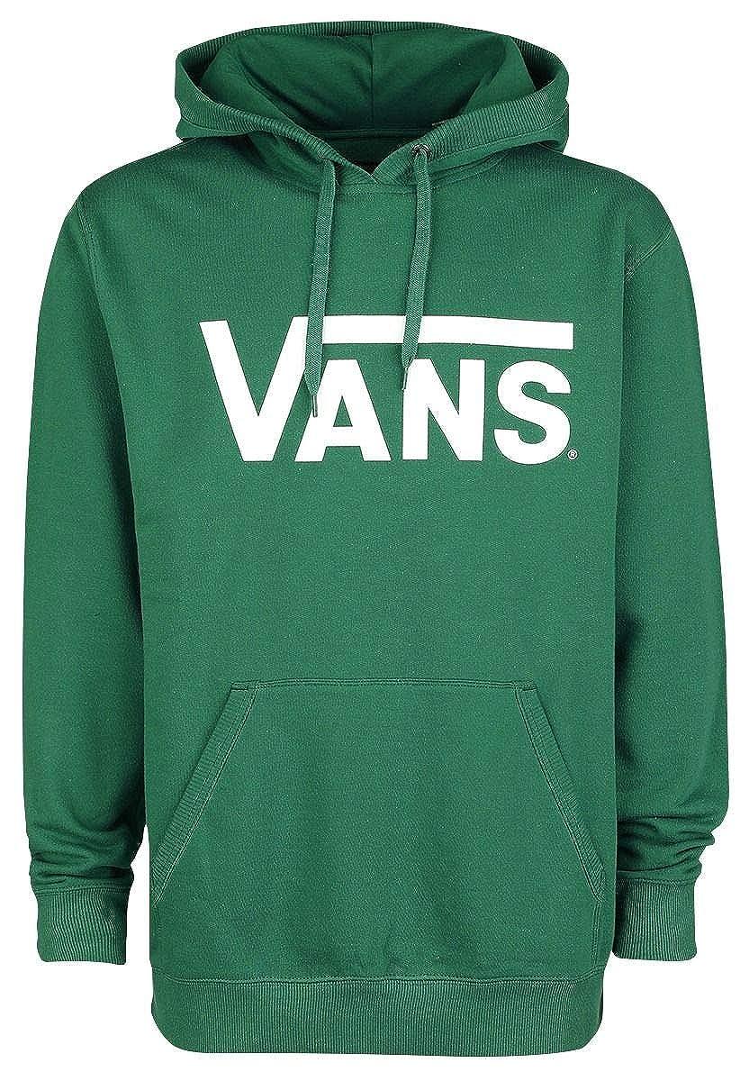 Vans Classic Pullover Hoodie Kapuzenpullover grün/weiß