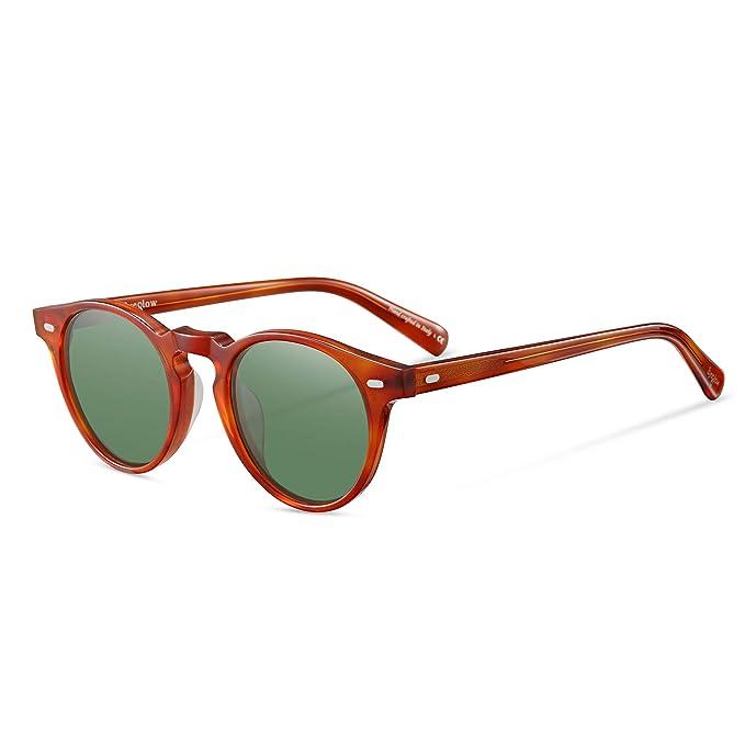 Amazon.com: EyeGlow - Gafas de sol redondas para mujer y ...