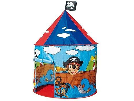 tenda gioco bambino  Teorema 64680 - Tenda Gioco Pirati per Bambini da Interno/Esterno, Blu