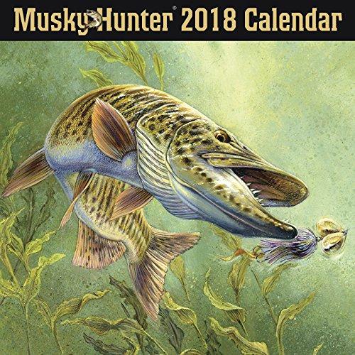 Musky Hunter 2018 Wall Calendar
