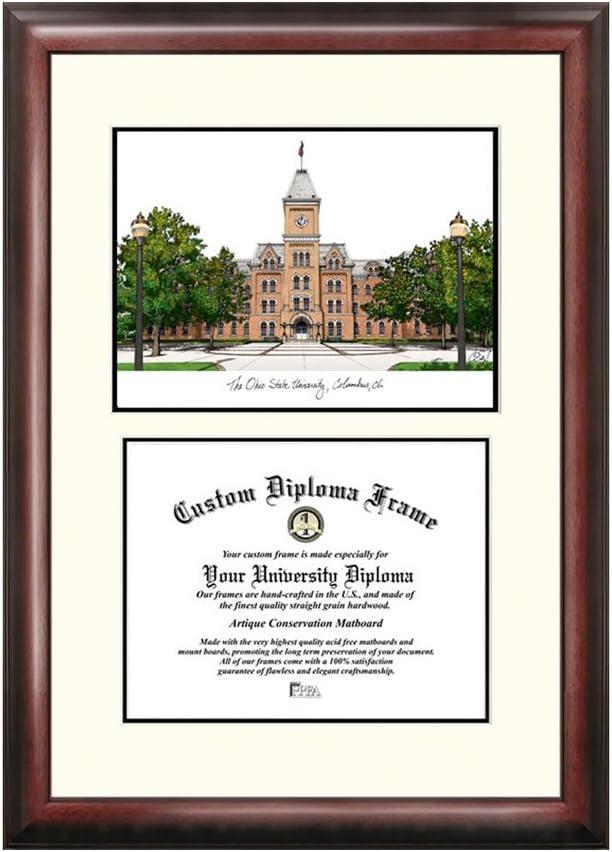オハイオ州状態大学Scholar卒業証書フレーム