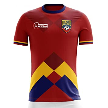 Airo Sportswear 2018-2019 Colombia Away Concept Football Soccer T-Shirt Camiseta (Kids