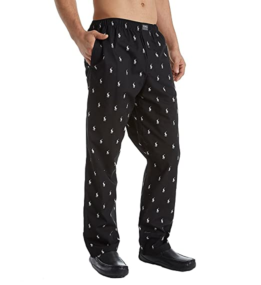 a966206195 Polo Ralph Lauren Men's Allover Pony Pajama Lounge Pants at Amazon ...