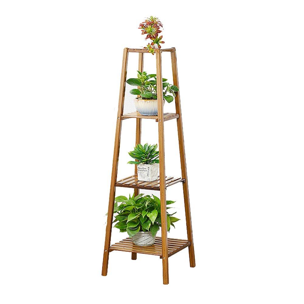 1183535cm Lagerregal ZHIRONG Bambus Blaumenständer Stand Multilayer Wohnzimmer Pflanzen Display-Stand Balkon Blaumentopf Rack 75  30  30 CM 100  30  30 CM 118  35  35 CM (Farbe   1183535CM)