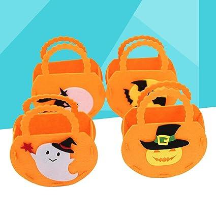 Juego de 4 bolsas de chucherías para Halloween con diseño de ...