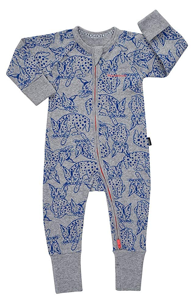 Bonds Baby Wondersuit 2 Way Zip Sleep and Play Fold Over Hand/Feet Cuffs