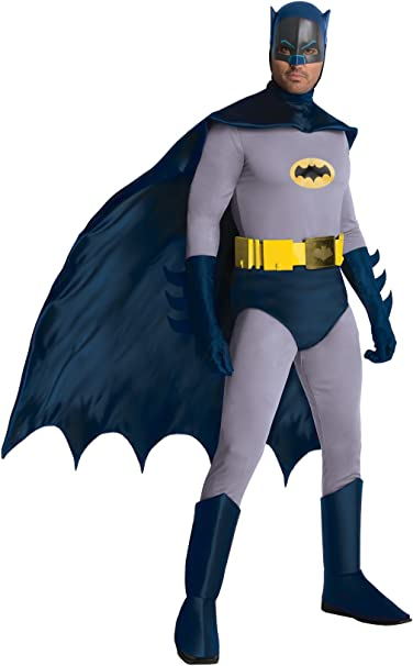 Amazon.com: Batman Classic 1966 Grand Heritage Hombres ...