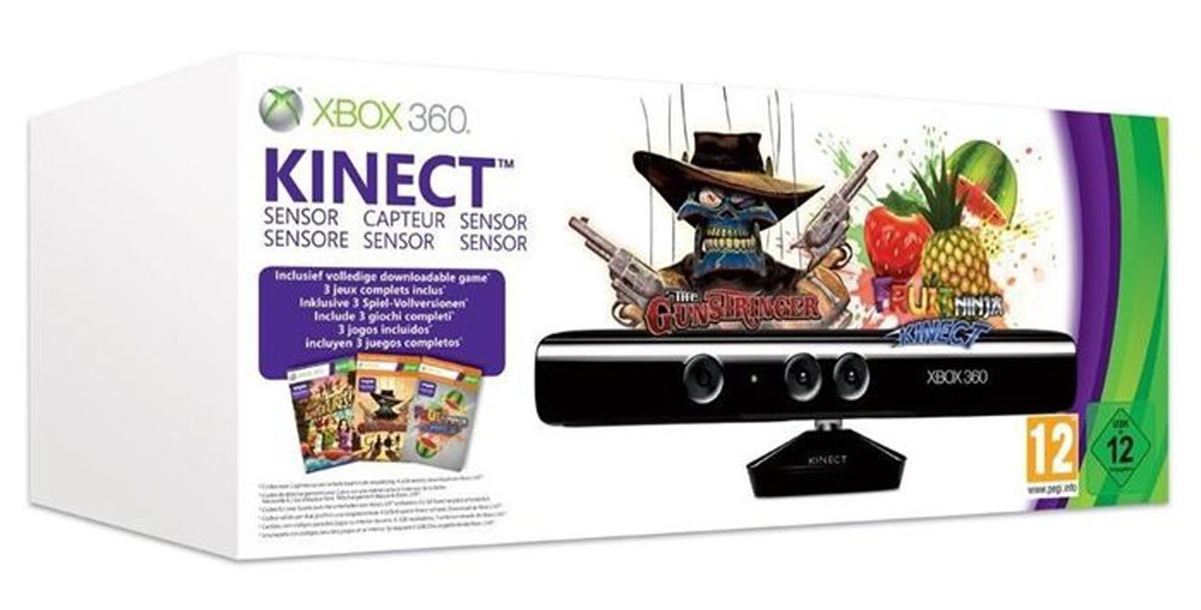 Kinect Sensor Value Bundle - Kinect Adventures, Kinect Fruit ...
