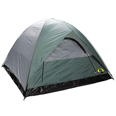 3-Season Tent Green Nylon Polyester: Home & Kitchen