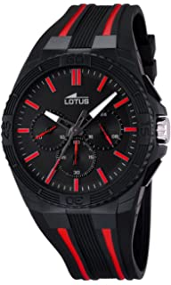 Lotus 18185-3 Mens Lotus R Red Black Chronograph Watch