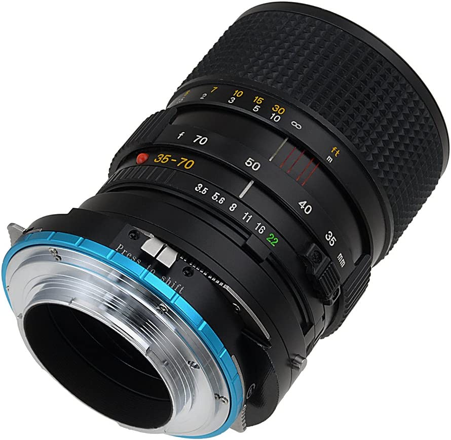 Fotodiox Pro Lens Mount Adapter Compatible with Mamiya 645 M645 Mount AF//AF-D Lenses to Sony Alpha E-Mount Mirrorless Camera Bodies