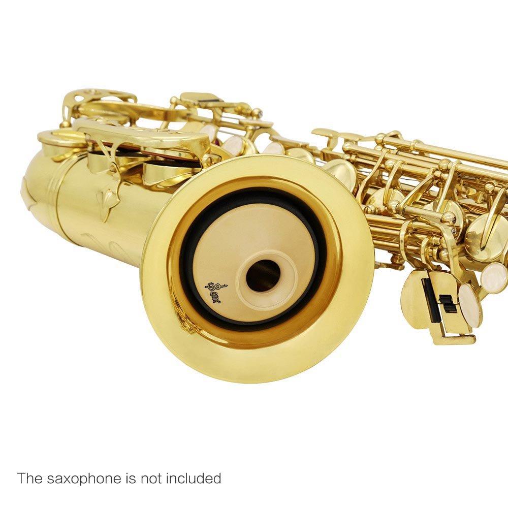 ammoon Silenciador silencioso Ligero abdominales para Alto Saxof/ón