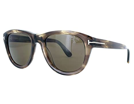 Amazon.com: anteojos de sol TOM FORD ft 0520 Benedicto 50h ...