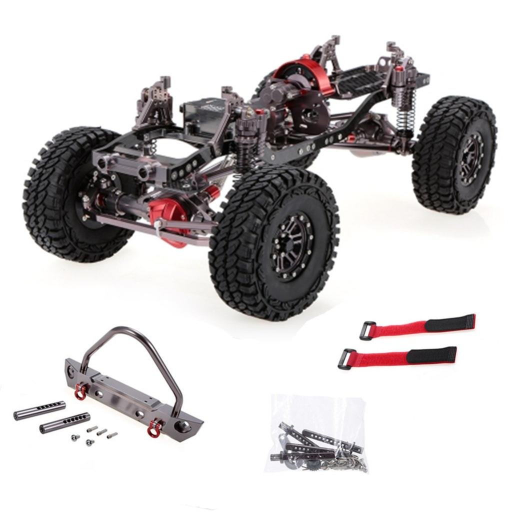 Homyl Aluminium Carbon Rahmen Kit/Frame Kits für für für 1/10 Axial Scx10 Rc Auto Crawler 3a9435