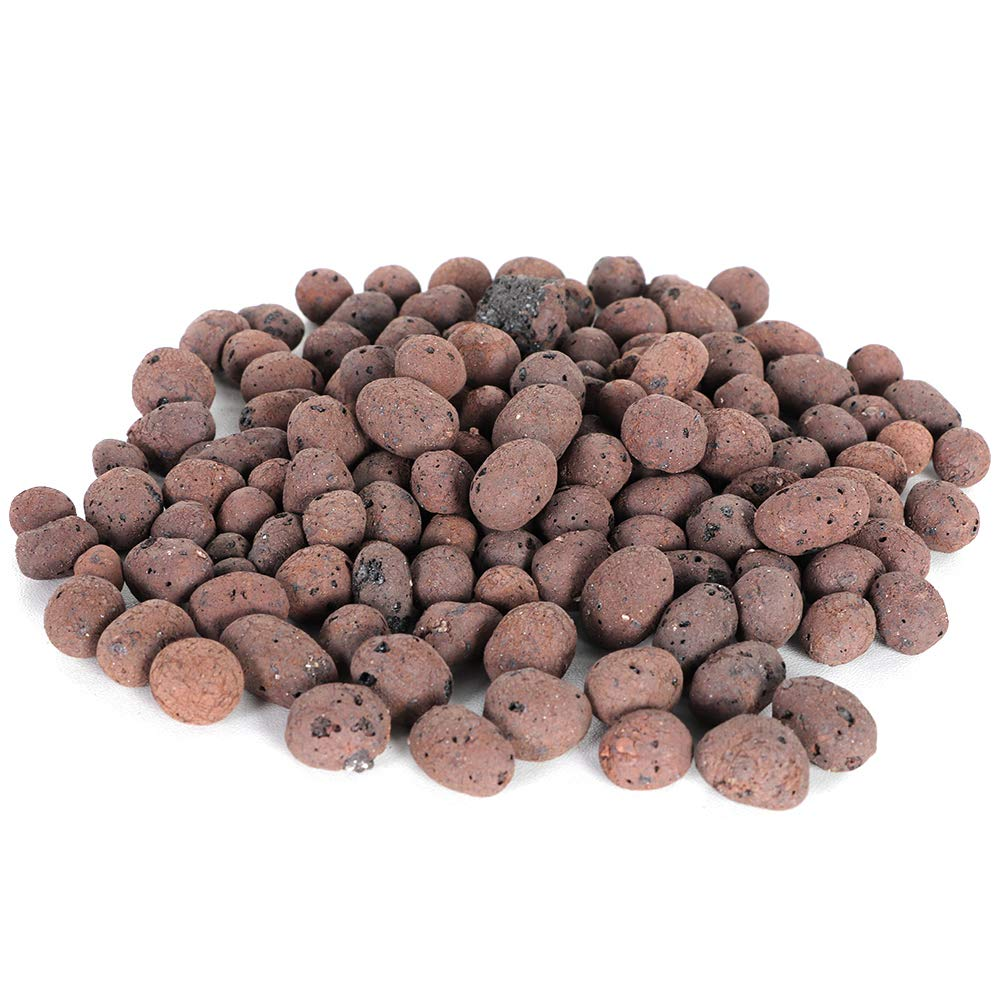 Eastbuy Clay Pebble Hydroponic Clay Pebbles Growing Media Anion Clay Rocks for Hydroponic System of Plant