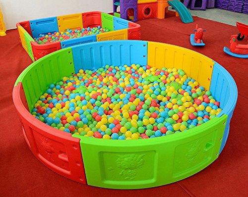100pcs Soft Plastic Colorful Children Kids Secure Ocean