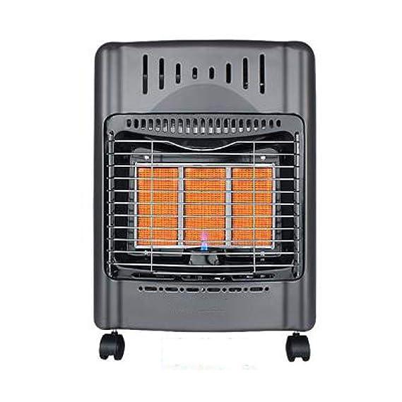 AtR Calentador de Gas de Gas Natural de Gas Licuado Casa Mini Calentador Estufa de la Estufa de Gas Caliente Cocina a la Parrilla,B,Calentador: Amazon.es: ...