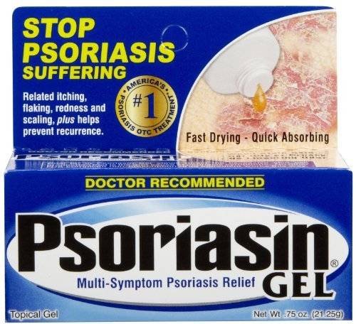 Psoriasin Psoriasis Gel Cream Relief (2 Pack) by Psoriasin