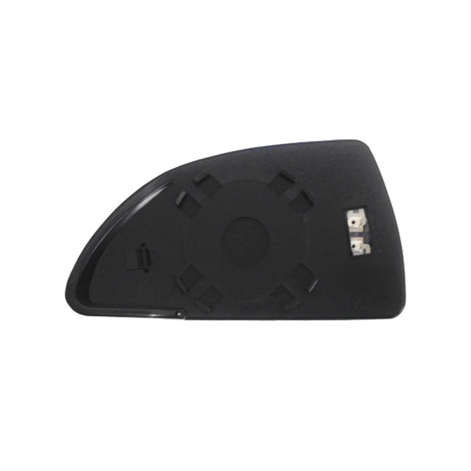 Fit System 30253 Passenger Side Heated Replacement Mirror Glass with Backing Plate