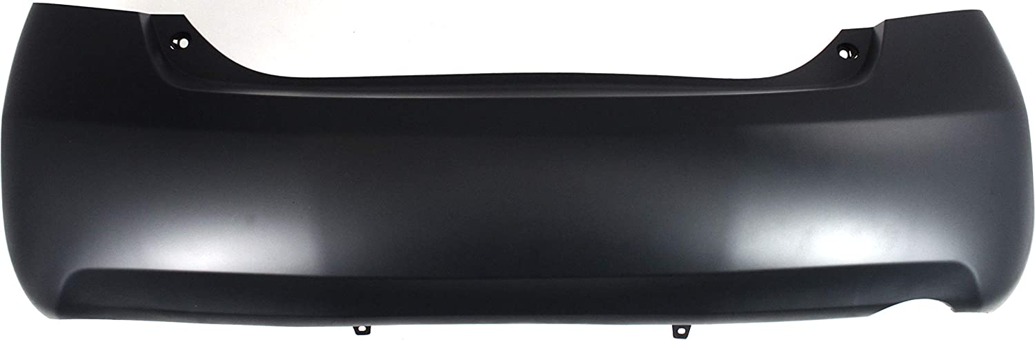 CAMRY 07-07//11-11 REAR BUMPER COVER,Primed,w//Dual Exhaust Holes,6 Cyl,LE//XLE