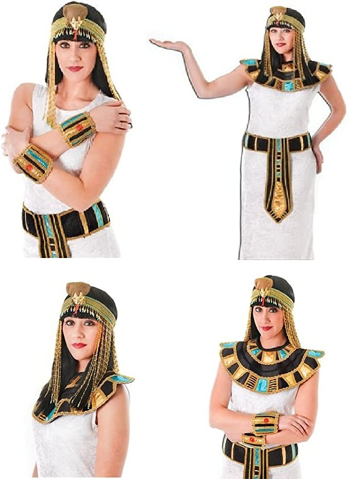 Cleopatra dorado de la bandera de Egipto Ancient egipcio de número ...