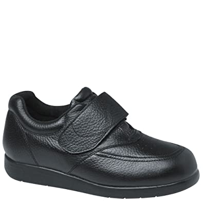 Drew Shoe Mens Navigator II Sneakers  Black Leather  95 6E  L0YQZS6UH