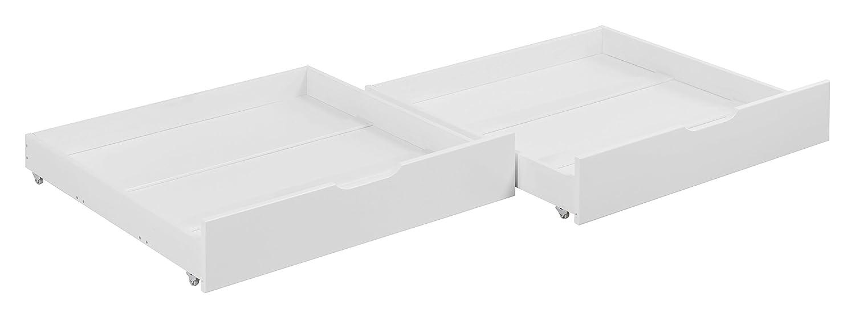 Lilokids Schubladen Set von 2 - für Etagenbett JELLE - weiß