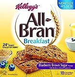 Kellogg's All Bran Blueberry and Brown Sugar Bars 210g