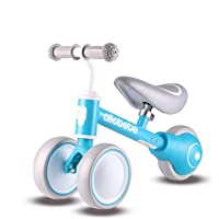 allobebe Baby Balance Bike-Baby Bike with Adjustable Seat for 10-36 Months, Stable Toddler Balance Bike for 1 Year Old…