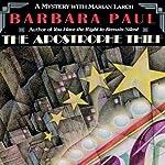 The Apostrophe Thief: Marian Larch, Book 5 | Barbara Paul