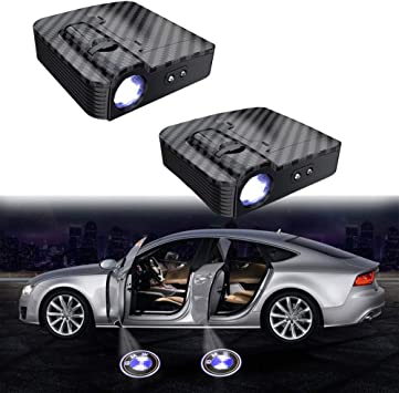 ANKIA 4 Pcs Car Door LED Logo Light Laser Projector Lights for Ghost Shadow Welcome Lamp Courtesy Light
