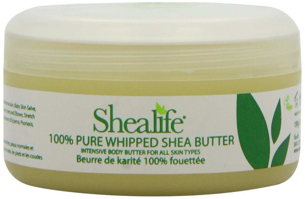 Shealife 100% Whipped Organic Shea Butter 150G [Health and Beauty] SHEA LIFE SB2602
