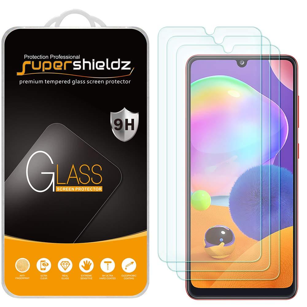 Vidrio templado para Samsung A31 [3un.] Supershieldz