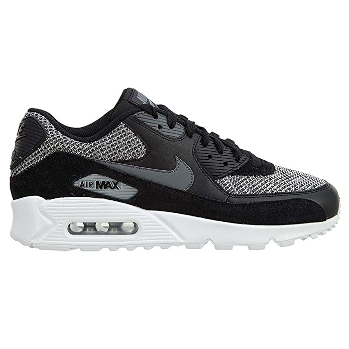 Alone Nike Air Max 90 Ultra 2 0 Flyknit Men s Running Shoes Black Wolf Grey Pure Platinum