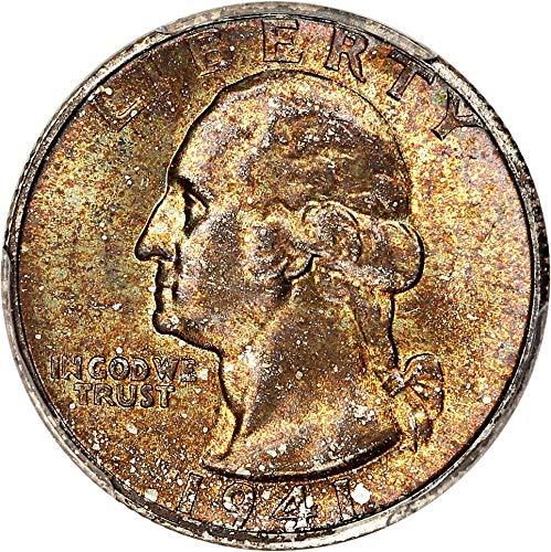1941 S Washington Quarters (1932-98) Quarter MS66 PCGS