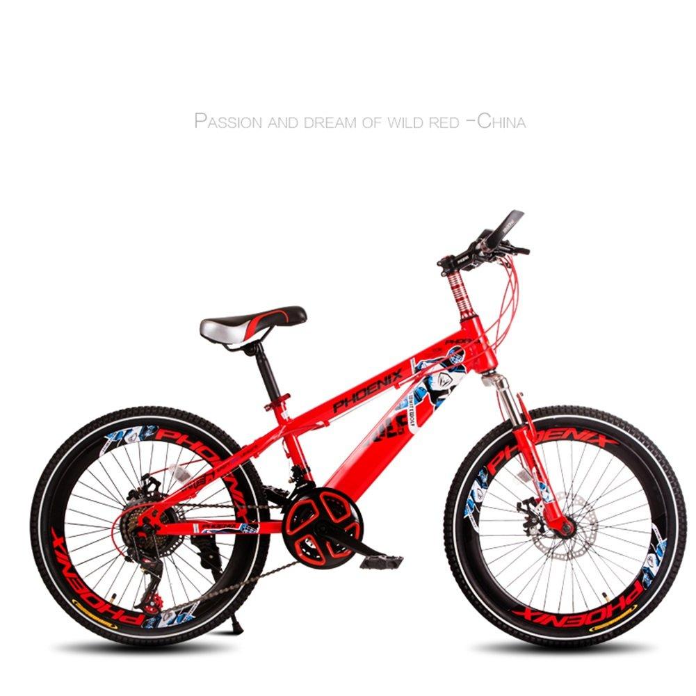 XQ TL 55子供の自転車3-13歳の男の子ハイカーボンスチールキッズバイク安定した可変速度耐衝撃性の快適なピアノペイント 子ども用自転車 ( 色 : 1 ) B07C4THXJ7 1 1