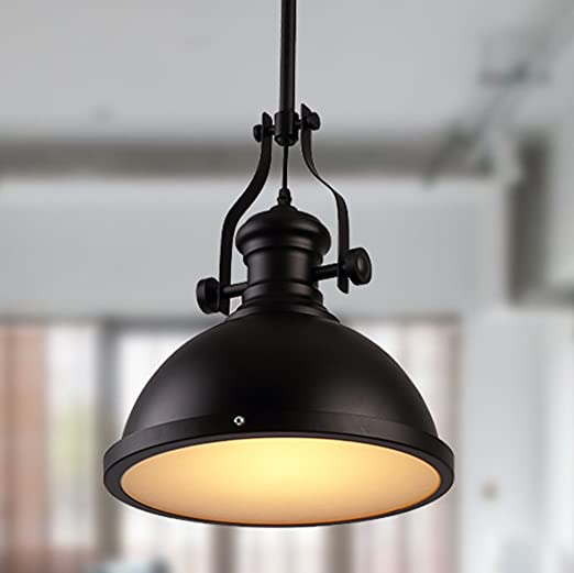 E27 - Lámpara de techo lámpara colgante vintage retro ...
