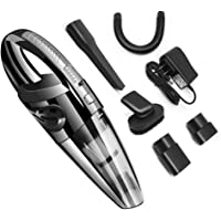 Top1Shop Handheld Vacuum, 120W Cordless Wet and Dry Dual Use Lightweight Portable Vacuum Cleaner with HEPA Filter, Quick Charge Tech, Powerful Cyclone Suction for Home Pet Hair, Car Cleaning