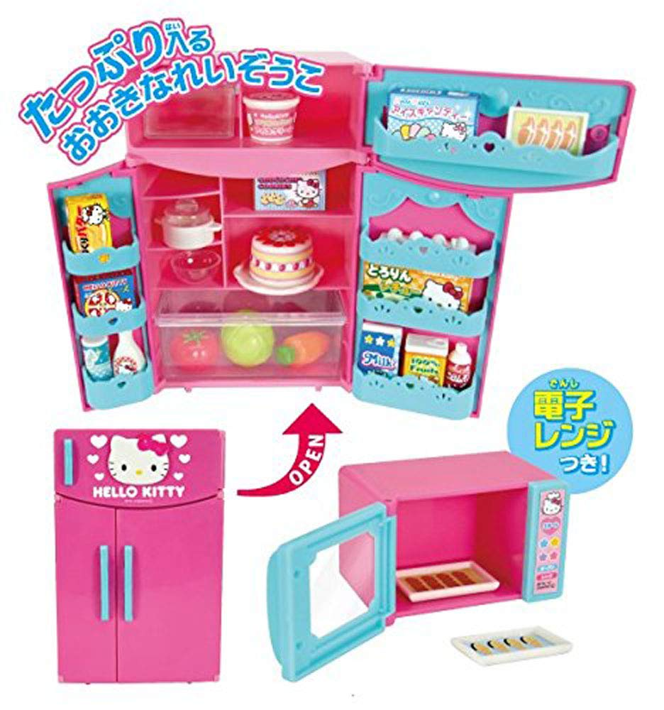 Hello Kitty Kitchen and Refrigerator Sets Sold Together - Everything Needed for Cooking Play by Hello Kitty (Image #6)